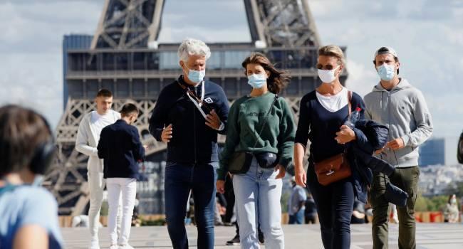 Новая эпидемия накрыла Европу: во Франции и других странах фиксируют рекордное число заразившихся коронавирусом