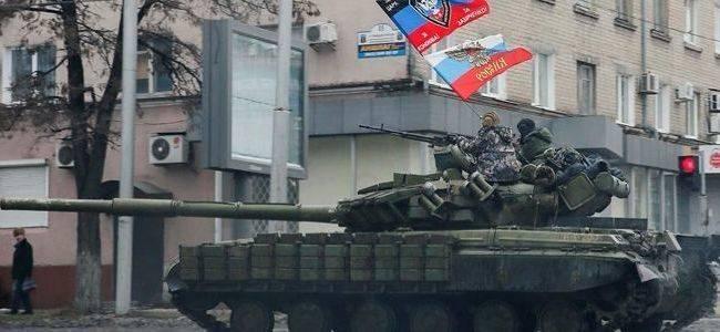 «Тяжелая бронетехника в Донецке и мешки с песком»: Боевики таки готовятся к наступлению?