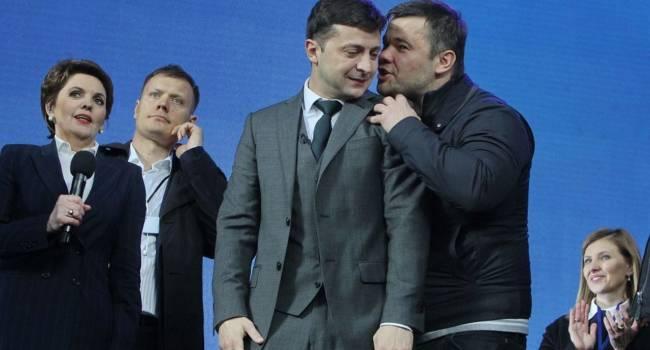 Друзенко: Зеленский, наверное, уже проклинает тот день, когда Богдан уговорил его баллотироваться в президенты