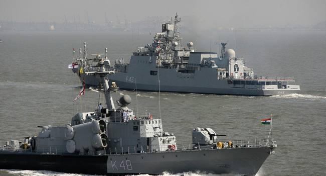 Индия и Россия провели совместные учения в Бенгальском заливе