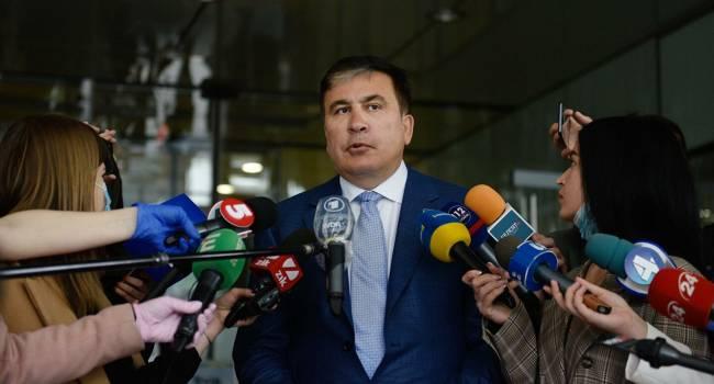 «Помогу народу в сложный период»: Саакашвили готов возглавить правительство Грузии