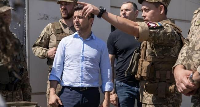 Небоженко: Если в Офисе президента считают, что российских военных на Донбассе нет, то почему Зеленский не отдаст приказ разгромить сепаратистов?