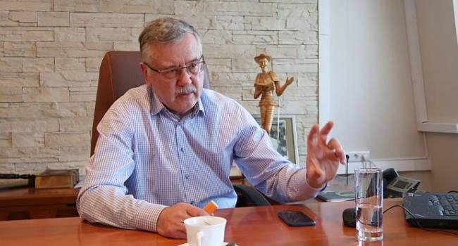«Открыто продемонстрировал свою слабость»:  Гриценко резко высказался об «инспекции» на Донбассе