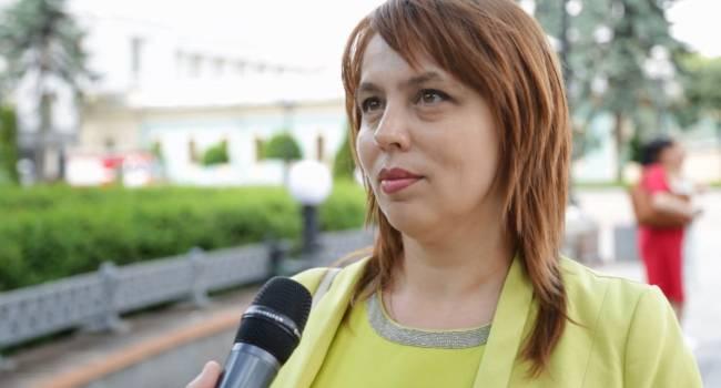 Веселова: «Вбросы» по Донбассу, которые делает нынешняя власть, поляризуют украинское общество