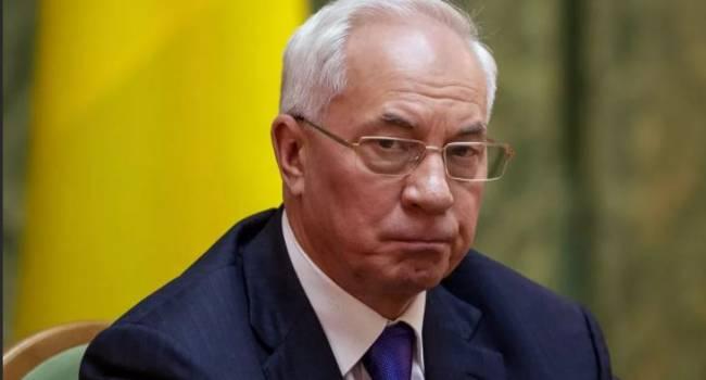 «Почему голосуют за людей, причинивших горе и страдания?»: Азаров прокомментировал результаты последнего опроса в Украине