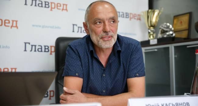 Касьянов: Когда головорез Пушилин грозит обстрелами, Зеленский включает заднюю и приглашает инспекцию - мол, мы мирные люди, и не нужно нас убивать