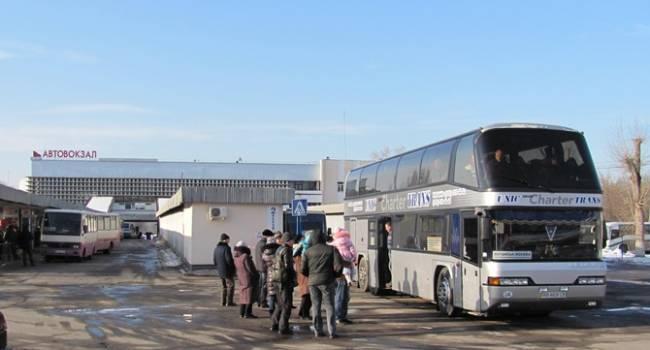 В «ЛНР» организовали пассажирские перевозки сообщением «Луганск – Киев»