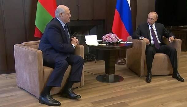 Путин предоставит Лукашенко 1,5 млрд. долларов кредита