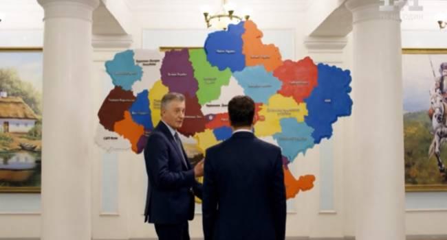 Попов: Есть реальная угроза того, что карта Украины станет такой, как нам показали в третьем сезоне сериала «Слуга народа»