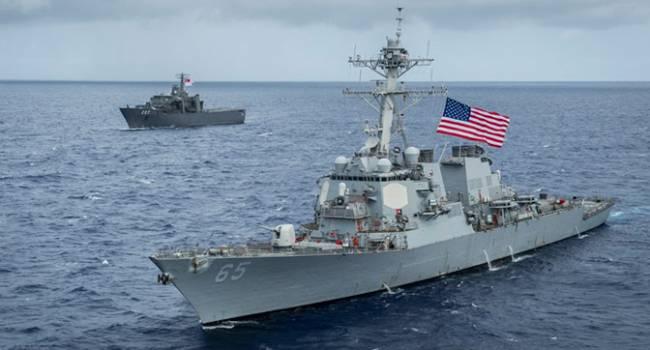 В Черное море вошел очередной американский эсминец