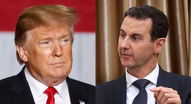 Трамп признался в планах ликвидировать Башара Асада