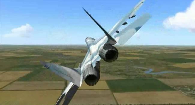 «Высший пилотаж»: Истребитель ВВС ВСУ исполнил «Бочку» перед носом американского бомбардировщика