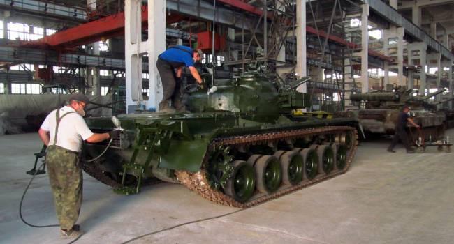 «Скоро в РФ начнется паника»: Украина начала активно восстанавливать танки для нужд ВСУ
