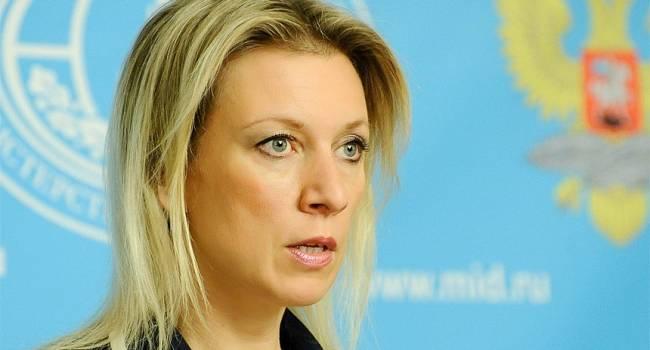 «Истерика. Пена у рта. И во всем виноваты США»: Захарова прокомментировала поддержку Данией блокады «Северного потока - 2»
