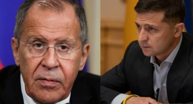 Сазонов: До Лаврова дошло, что Зеленский посылает Кремль вместе с пропитанными ядом «мирными инициативами» очень далеко