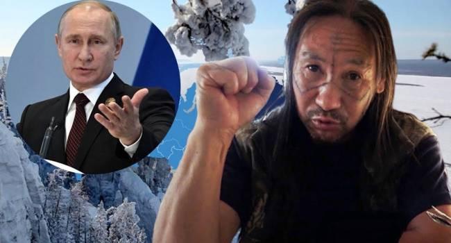 Яковина: Теперь понятно, почему в Кремле так боятся шамана Габышева. Дела у Путина идут все хуже
