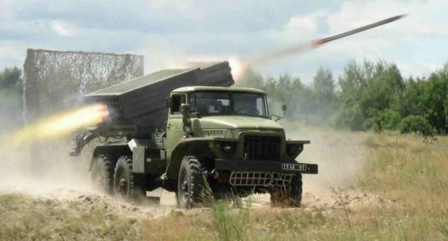 РФ перебрасывает на Донбасс «Грады», вагоны боеприпасов и десятки грузовиков с противотанковыми минами – разведка