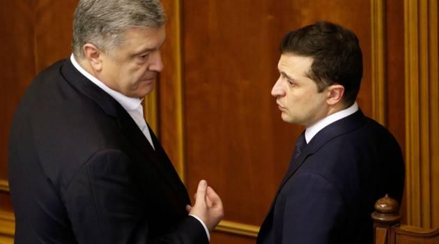 Зеленский о Порошенко: «Он до сих пор считает себя монархом, хотя за 5 лет ничего для Украины не сделал»