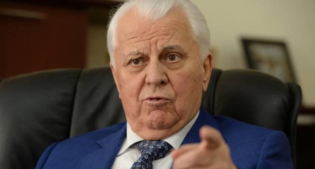 Кремль заблокирует все вопросы до тех пор, пока Рада не разрешит провести на Донбассе выборы – Кравчук
