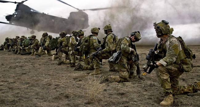 В Николаевской области десантировались элитные спецслужбы Великобритании
