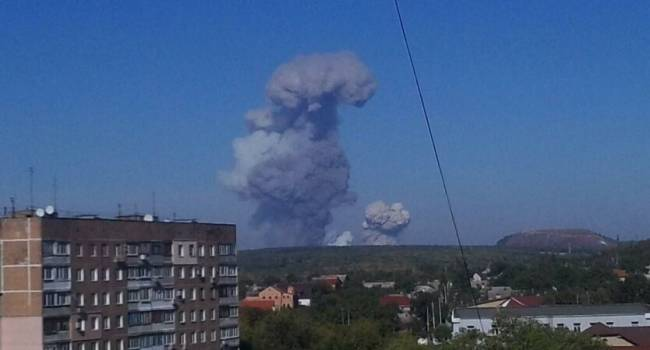 «Началась война?»: У Донецка прогремели больше 10 взрывов