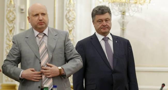 Небоженко: Порошенко, по всей видимости, уже готовится к досрочным президентским выборам, и попросил Турчинова вернуться в большую политику