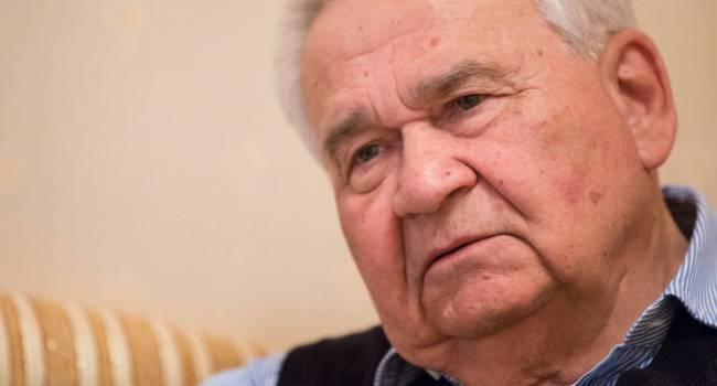 Телеведущая: старцы особого статуса утверждают мнение, что для того, чтобы провести выборы в ОРДЛО не надо выводить российские войска