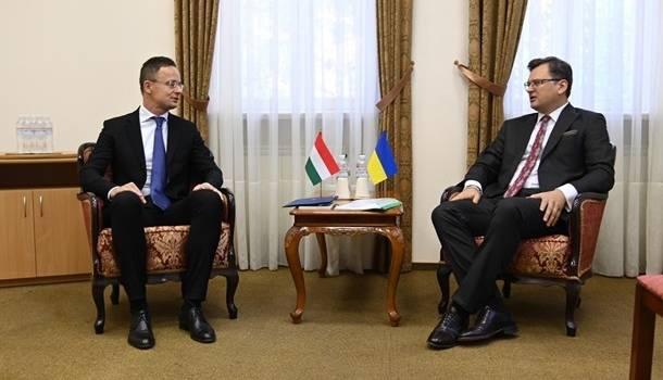 В Закарпатье состоится очередная встреча глав МИД Украины и Венгрии