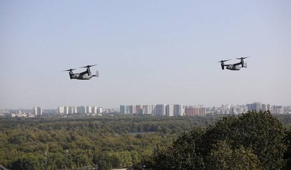 Над Киевом пролетели американские самолеты: в чем причина