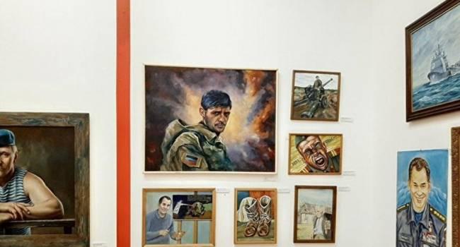 Журналист: любителям «русского мира», если будут в Москве, нужно забыть заглянуть в Третьяковскую галерею, где выставлен портрет боевика Гиви