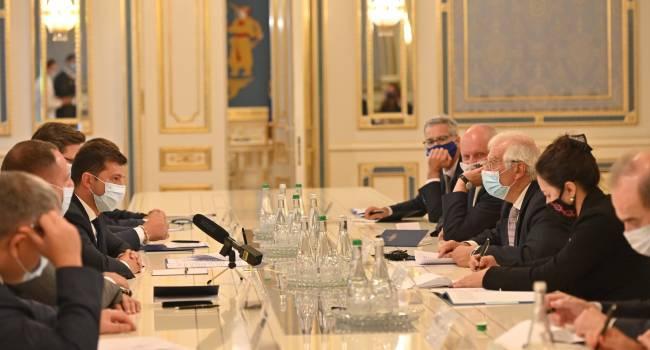 Павленко: Визит Борреля в Киев показал, что глава европейской дипломатии не доверяет нынешней украинской власти