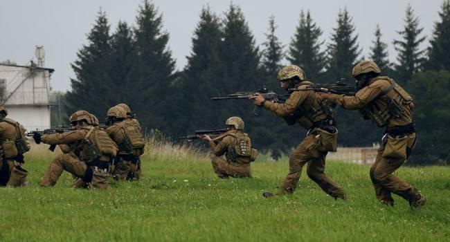 «Украина и США – это сила!»: Спецназ ВСУ и американские военные показали, как будут вместе штурмовать агрессора