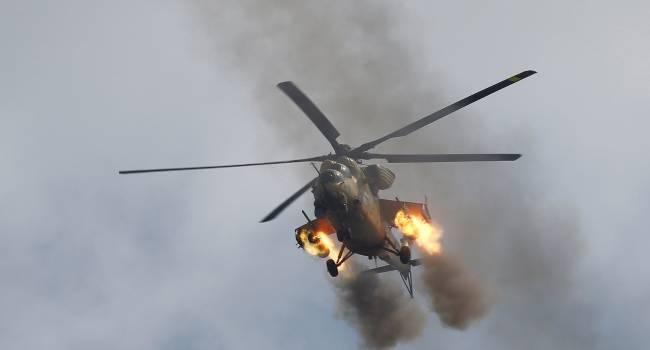 В Ливии упал вертолет с бойцами «Вагнера»: При ударе о землю произошла детонация боеприпасов