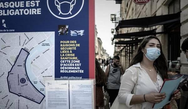 В отдельных регионах Франции вводится карантин из-за всплеска заражений коронавирусом