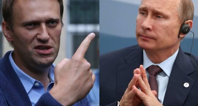 Журналист о мети Путина Навальному: это жест отчаяния, фактически означающий признание своего полного поражения