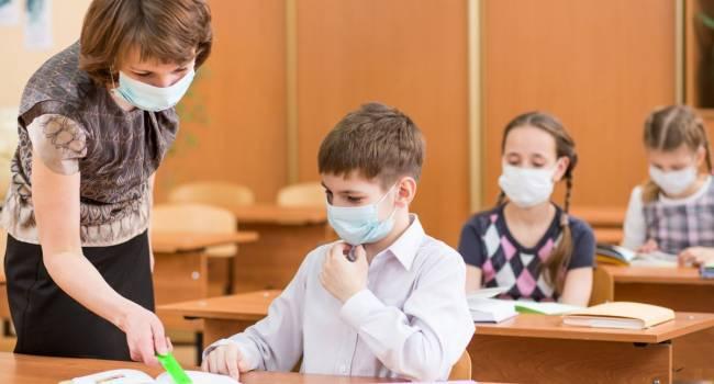 «Это лишено всяческого смысла»: Тодуров заявил, что детей в школах не нужно заставлять носить маски