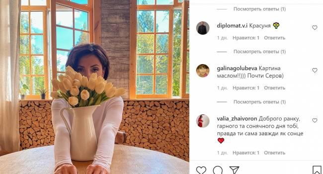 «Картина маслом»: Оля Цибульская поделилась новым эстетическим фото