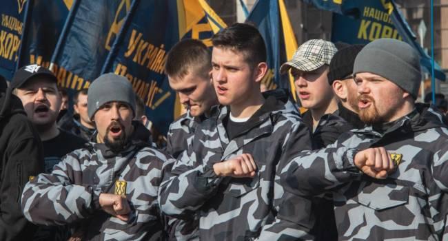 Соколовская: Акции «Нацкорпуса» финансируют Фирташ и Левочкин, стремящиеся вернуть былое влияние в украинской политике