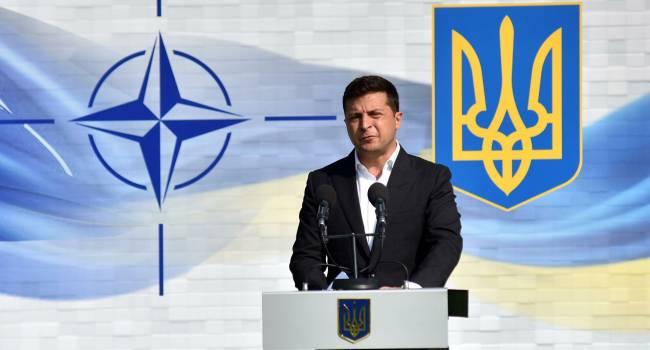Зеленский разрешил войскам НАТО готовить войну с Россией на украинской территории - Кузьмин
