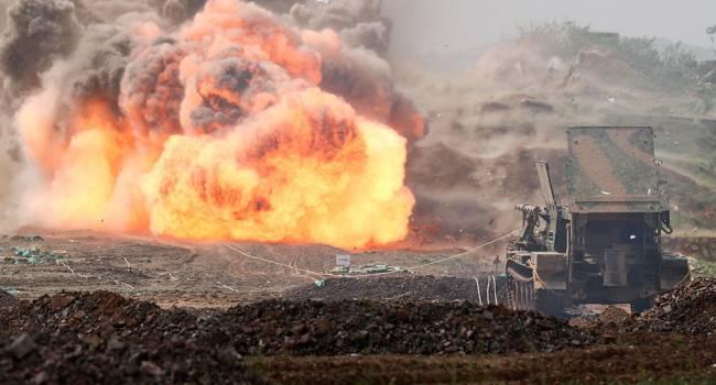 «Них** себе! Вот это выстрел»: ВС РФ продолжают палить по собственной технике реактивными снарядами