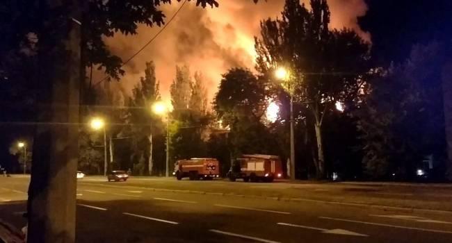 Донецк горит огнем: Люди в панике и не знают что делать