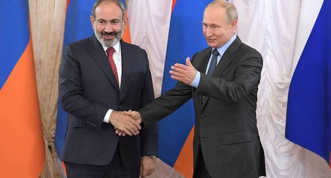 «Война в Нагорном Карабахе»: Президент России прервал молчание после обращения Пашиняна