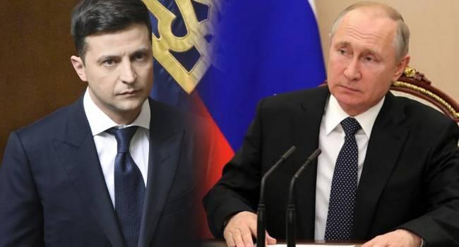 Путин относится к Зеленскому с пренебрежением, и давит на него, в грубой, уничижительной манере, используя Кадырова - Соловей