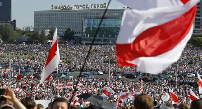 Политолог: народ Беларуси проиграл дважды, один раз – потому что у него такой бездарный президент и второй раз, что у него такая подлая оппозиция