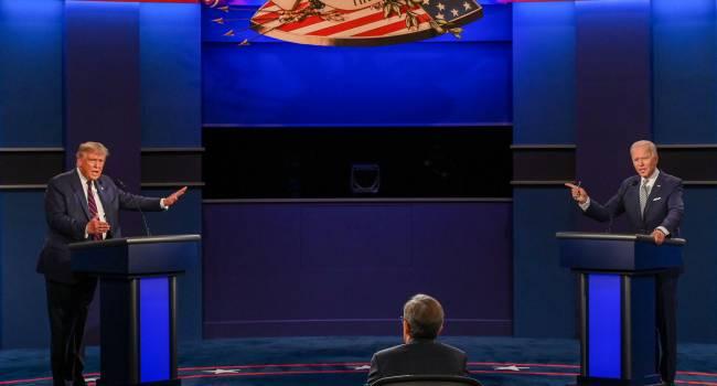 «Щенок Путина» и «неумный Джо»: как Байден и Трамп обменивались взаимными оскорблениями во время дебатов