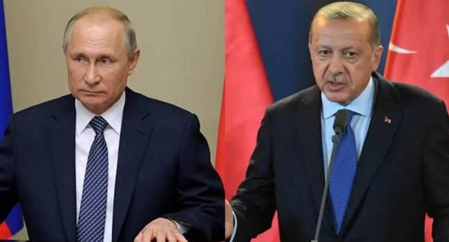 Эксперт: Эрдоган раскусил трусливую натуру Путина, и теперь будет дожимать блеющего хозяина Кремля