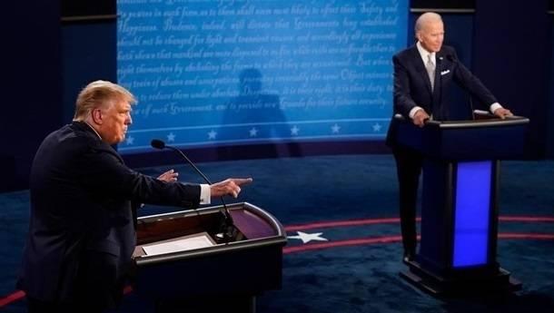 Трампу и Байдену на дебатах будут поочередно отключать микрофоны