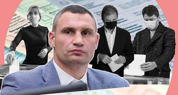 Кличко о выходе Попова во второй тур: Его избиратели уже забыли, что такое «елка» на Майдане