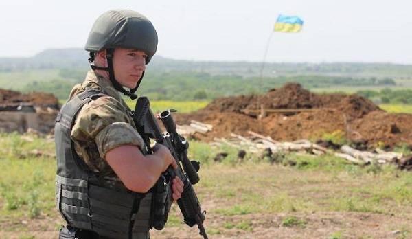 Россия сорвала перемирие на Донбассе – командующий ООС
