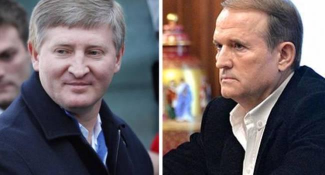 Гринев: Ахметов продолжает наносить удары по Медведчуку и ОПЗЖ - на этот раз война началась в медиапространстве